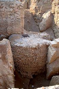 Jericho Neolithic Tower from BiblePlaces.com