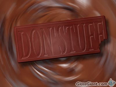 Pretend this is dark chocolate...