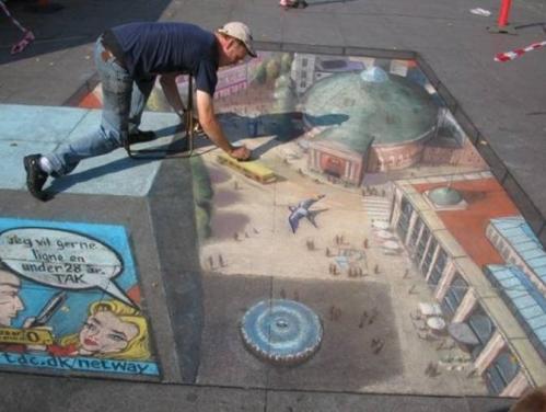 http://www.yellow-llama.com/amazing-pavement-art/