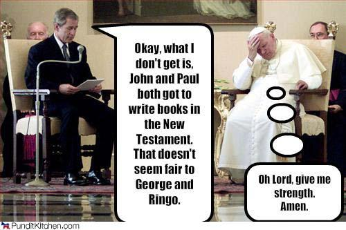 http://punditkitchen.com/2008/11/18/political-pictures-george-bush-pope-john-paul-lord/