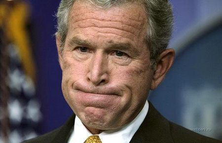 bush-funny-face