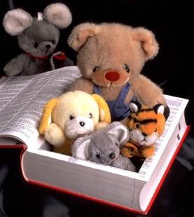 book-stuffed-animals